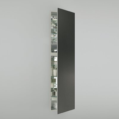 M Series 19.25 x 70 Recessed Medicine Cabinet Orientation: Left Hand, Finish: Tinted Gray