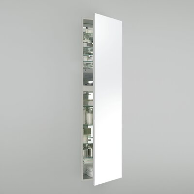M Series 19.25 x 70 Recessed Medicine Cabinet Orientation: Left Hand, Finish: White