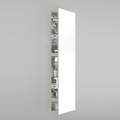 M Series 19.25 x 70 Recessed Medicine Cabinet Finish: Satin White, Orientation: Left Hand
