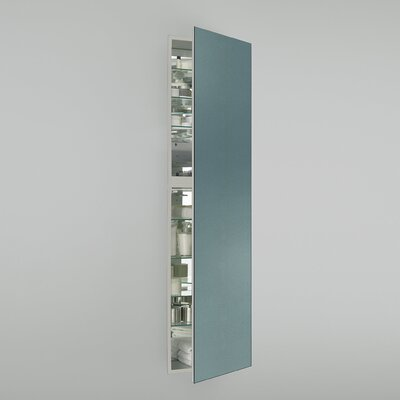 M Series 19.25 x 70 Recessed Medicine Cabinet Orientation: Left Hand, Finish: Ocean Blue