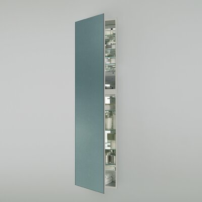M Series 19.25 x 70 Recessed Medicine Cabinet Orientation: Right Hand, Finish: Ocean Blue
