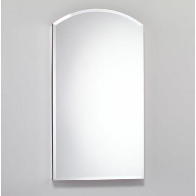 15.25 x 34 Recessed or Surface Mount Medicine Cabinet Finish: White