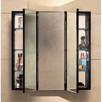 PL Series 36 x 30 Recessed or Surface Mount Medicine Cabinet Finish: Classic Gray
