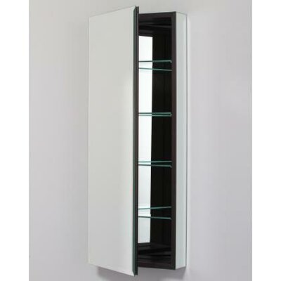 PL Series 16 x 39.38 Recessed or Surface Mount Medicine Cabinet Finish: Black