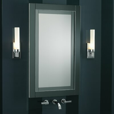 Candre 23.25 x 39.38 Recessed or Surface Mount Medicine Cabinet Finish: Tinted Gray