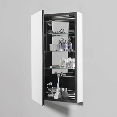 PL Series 19.25 x 39.38 Recessed Medicine Cabinet Finish: White