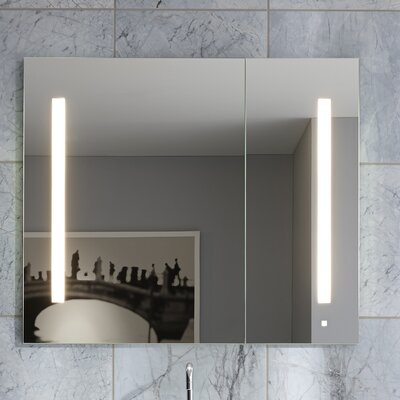 AiO 35.25 x 30 Recessed Medicine Cabinet with Lighting