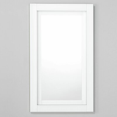 Candre 19.25 x 39.38 Recessed or Surface Mount Medicine Cabinet Finish: White