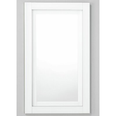 Candre 23.25 x 39.38 Recessed or Surface Mount Medicine Cabinet Finish: White