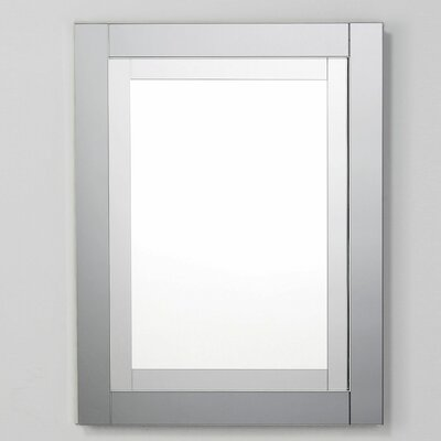 Candre 23.25 x 30 Recessed or Surface Mount Medicine Cabinet Finish: Tinted Gray