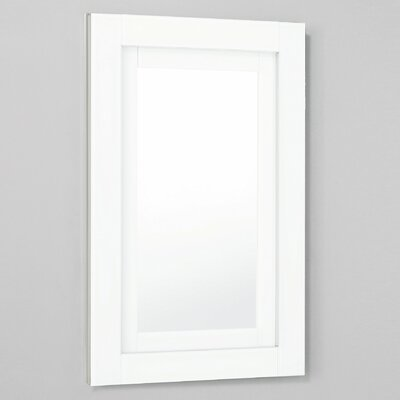 Candre 19.25 x 30 Recessed or Surface Mount Medicine Cabinet Finish: White