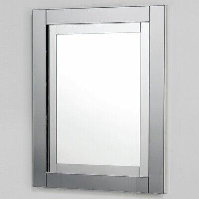 Candre 23.25 x 30 Recessed or Surface Mount Medicine Cabinet Finish: Tinted Gray Mirror, Orientation: Right Hand