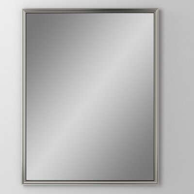 Main Line 23.25 x 30 Recessed Medicine Cabinet Finish: Brushed Black, Orientation: Right Hand