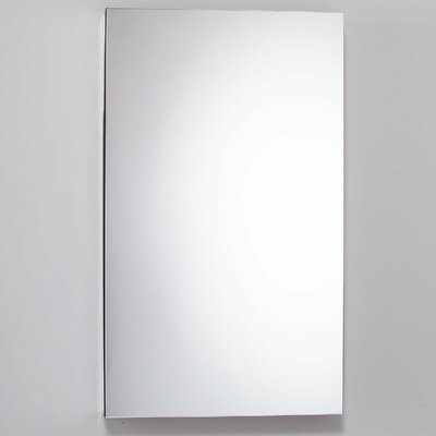 M Series 15.25 x 39.38 Mirrored Recessed Electric Medicine Cabinet Orientation: Left Hand