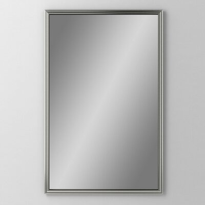 Main Line 19.25 x 39.38 Recessed Medicine Cabinet Finish: Brushed Black