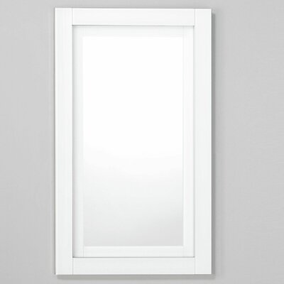 Candre 19.25 x 39.38 Recessed or Surface Mount Medicine Cabinet Finish: White, Orientation: Right Hand