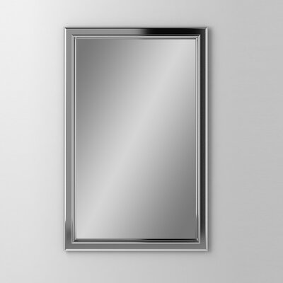 Main Line 19.25 x 30 Recessed Medicine Cabinet Finish: Chrome
