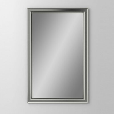 Main Line 19.25 x 39.38 Recessed Medicine Cabinet Finish: Satin Nickel, Orientation: Left Hand