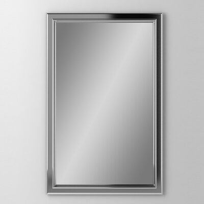 Main Line 19.25 x 39.38 Recessed Medicine Cabinet Finish: Chrome, Orientation: Right Hand
