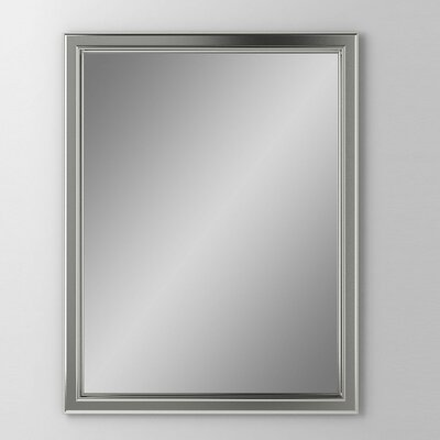 Main Line 23.25 x 30 Recessed Medicine Cabinet Finish: Brushed Black