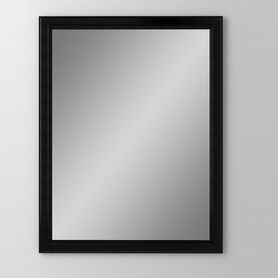 Main Line 23.25 x 30 Recessed Medicine Cabinet Finish: Brushed Black, Orientation: Left Hand
