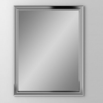 Main Line 23.25 x 39.38 Recessed Medicine Cabinet Finish: Satin Nickel