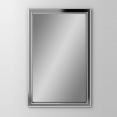 Main Line 19.25 x 30 Recessed Medicine Cabinet Finish: Brushed Black, Orientation: Left Hand