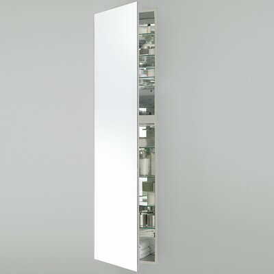M Series 15.25 x 70 Recessed Medicine Cabinet with Lighting Orientation: Left Hand