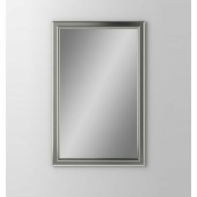 Main Line 23.25 x 30 Recessed Medicine Cabinet Finish: Brushed Nickel