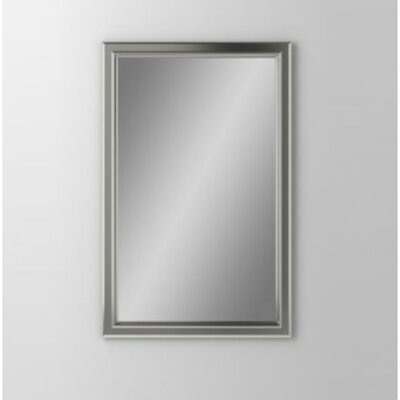 Main Line 23.25 x 39.38 Recessed Medicine Cabinet Finish: Satin Nickel, Orientation: Left Hand