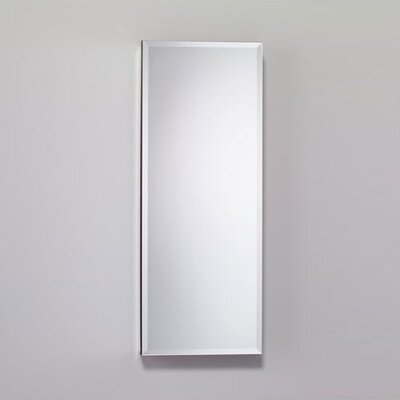 15.25 x 39.38 Recessed or Surface Mount Medicine Cabinet