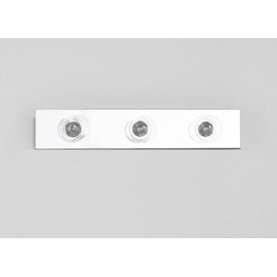 M Series 16 x 3 Recessed or Surface Mount Medicine Cabinet with Lighting Finish: White