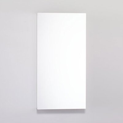 PL Series 15.25 x 30 Recessed or Surface Mount Medicine Cabinet Finish: White
