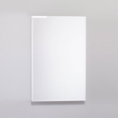 PL Series 19.25 x 30 Recessed or Surface Mount Medicine Cabinet Finish: White