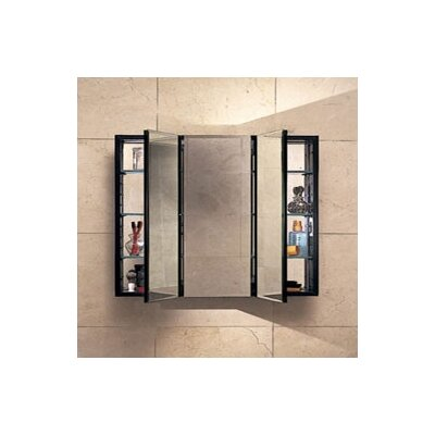 PL Series 30 x 30 Recessed or Surface Mount Medicine Cabinet Finish: White