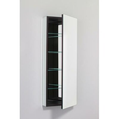PL Series 15.25 x 39.375 Recessed or Surface Mount Medicine Cabinet Orientation: Left, Finish: Classic Gray