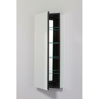PL Series 19.25 x 39.38 Recessed or Surface Mount Medicine Cabinet Finish: Black, Orientation: Left