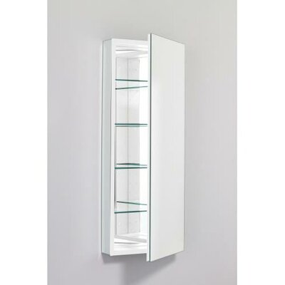 PL Series 19.25 x 39.38 Recessed or Surface Mount Medicine Cabinet Finish: White, Orientation: Right