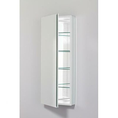 PL Series 19.25 x 39.38 Recessed or Surface Mount Medicine Cabinet Finish: White, Orientation: Left