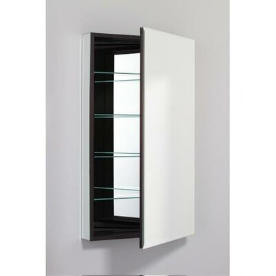 PL Series 23.25 x 39.38 Recessed or Surface Mount Medicine Cabinet Finish: Black