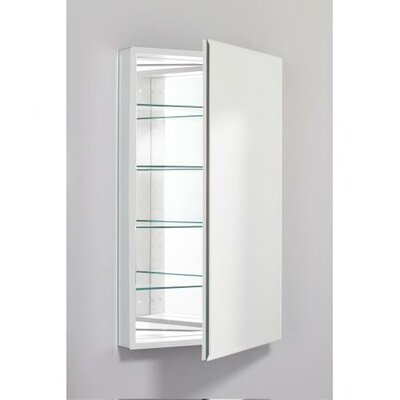 PL Series 23.25 x 39.38 Recessed or Surface Mount Medicine Cabinet Finish: White