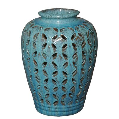 Greenford Lattice Decorative Jar
