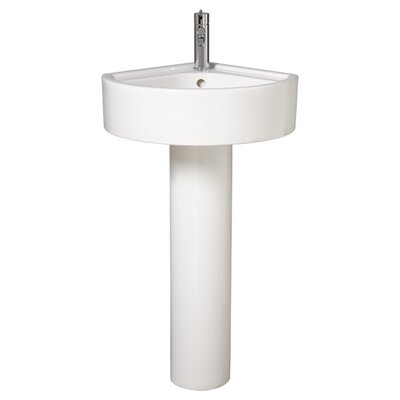 Small Corner Pedestal Bathroom Sink : Corner Pedestal Sinks Bathrooms on Solutions Small Corner Bathroom ...