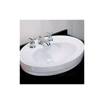 PORCHER  Archive Vessel Sink in White