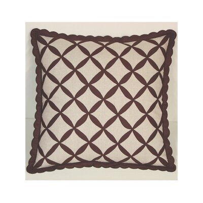 Symmetry Linen Throw Pillow