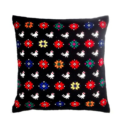 Magyar Charm Cotton Throw Pillow