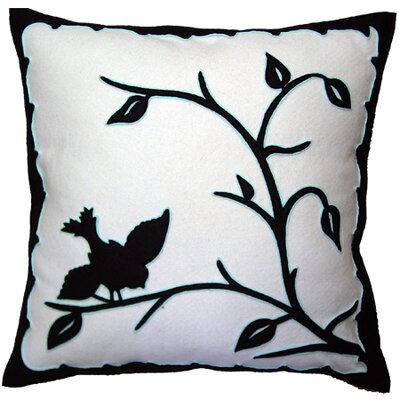 Hollohaza Bird Throw Pillow