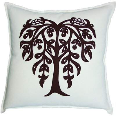 Bihar Tree Throw Pillow