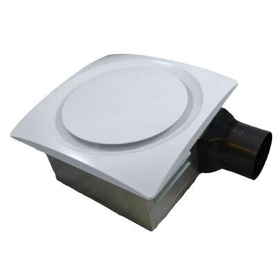 SlimFit 90 CFM Energy Star Bathroom Fan Finish: White