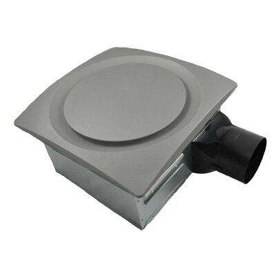 80-140 CFM Energy Star Bathroom Fan with Sensor Finish: Satin Nickel